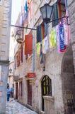 De kleurrijke straten Stock Afbeelding