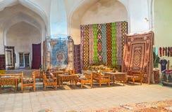 De kleurrijke tapijten Stock Fotografie