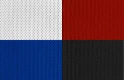 De kleurrijke texturen XXL van Jersey van Sporten Stock Fotografie