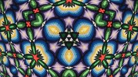 De kleurrijke textuur van de canvasstof stock foto
