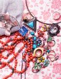 De kleurrijke toebehoren van de luxe Royalty-vrije Stock Foto