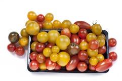 De kleurrijke Tomaten van de Kers royalty-vrije stock foto