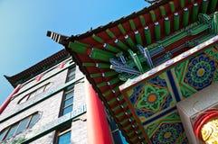 Chinese Architectuur Royalty-vrije Stock Foto