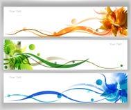 De kleurrijke Vector van de Bloem Royalty-vrije Stock Fotografie