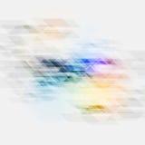 De kleurrijke vectortextuur van technologie Stock Foto