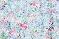 De kleurrijke verfdocument achtergrond van het textuurbehang Royalty-vrije Stock Foto