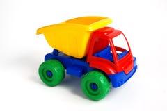 De kleurrijke Vrachtwagen van het Stuk speelgoed Stock Afbeelding