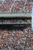 De kleurrijke wereld van NASCAR Stock Fotografie