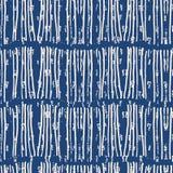 De kleurstof naadloos patroon van de indigo vectorband royalty-vrije illustratie