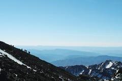 De klim Stock Afbeelding