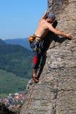 De klimmer van de rots Royalty-vrije Stock Afbeelding