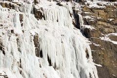 De klimmers van het ijs. Royalty-vrije Stock Foto's