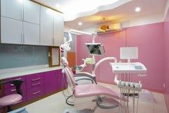 De kliniek van de tandarts Stock Fotografie