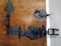 De klink van de kerkdeur Stock Afbeelding
