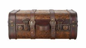 De Klinken van de koffer die met het knippen van weg worden geïsoleerd Royalty-vrije Stock Fotografie