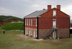 De Klinknagel van het fort stock afbeelding