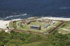 De Klinknagel van het fort. stock afbeelding