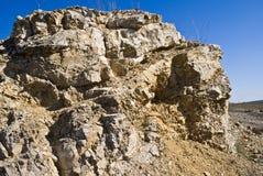 De klip van de steen Stock Foto