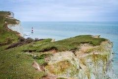 De klippen van de kust. Mooi landschap in de zomer. Stock Afbeelding