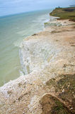 De klippen van de kust. Mooi landschap in de zomer Stock Afbeelding