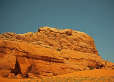 De Klippen van de rots Stock Afbeeldingen