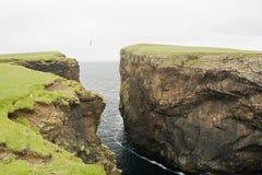 De Klippen van Eshaness, Shetland Royalty-vrije Stock Afbeelding