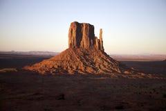 De klippen van het zandsteen in het parkmonument in Utah, de V.S. Stock Afbeeldingen