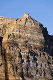 De klippen van Skansen, Svalbard, Noorwegen Royalty-vrije Stock Afbeelding