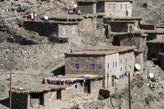 De klippenwoningen van Berber royalty-vrije stock foto