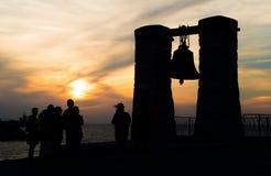 De klok in Chersonese sebastopol Royalty-vrije Stock Foto