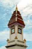 De klok Thaise stijl van de toren Royalty-vrije Stock Fotografie