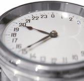 de klok van 24 uur Royalty-vrije Stock Fotografie