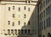 De Klok van Burgers, Brussel Stock Fotografie