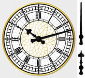 De klok van de Big Ben Stock Afbeelding