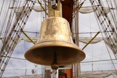 De klok van de boot Stock Fotografie