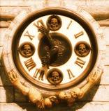 De Klok van de dood Royalty-vrije Stock Fotografie