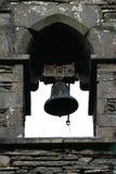 De Klok van de kerk stock afbeeldingen