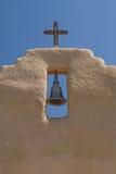 De Klok van de Kerk van New Mexico Stock Afbeeldingen
