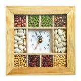 De klok van de keuken stock foto