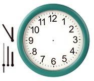 De klok van de muur Stock Afbeelding