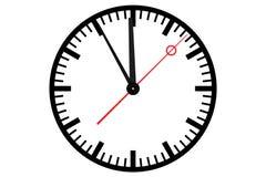De klok van de post Stock Afbeelding