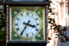 De klok van de stoom stock afbeeldingen