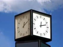 De klok van de straat Royalty-vrije Stock Foto's