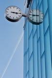 De klok van de straat Royalty-vrije Stock Foto