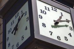 De klok van de straat Royalty-vrije Stock Fotografie