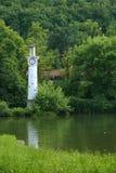 De klok van de toren Stock Foto's