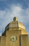 De klok van de toren Stock Foto