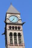 De Klok van de toren Royalty-vrije Stock Afbeeldingen