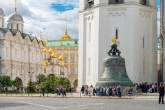 De Klok van de tsaar Royalty-vrije Stock Afbeelding