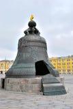 De Klok van de tsaar, het Kremlin, Moskou Stock Foto